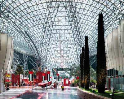 Ferrari World Abu Dhabi - © Attention Deficit Disorder Prosthetic Memory Program