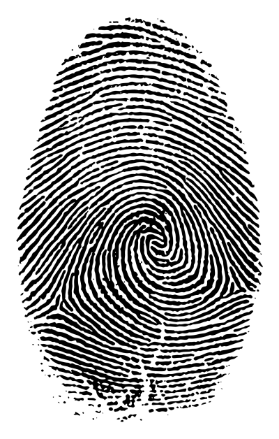 Fingerprint Verification - © Attention Deficit Disorder Prosthetic Memory Program