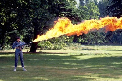 Flamethrower - © Attention Deficit Disorder Prosthetic Memory Program