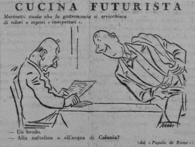 Futurist Cooking - © Attention Deficit Disorder Prosthetic Memory Program