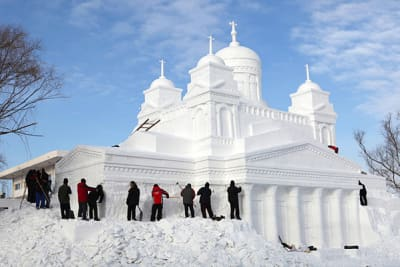 Harbin Ice and Snow Sculpture Festival - © Attention Deficit Disorder Prosthetic Memory Program