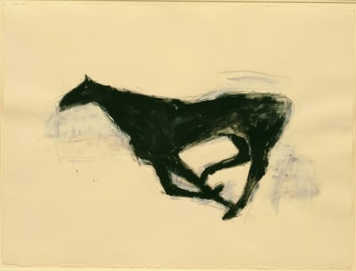 Horses by Susan Rothenberg - © Attention Deficit Disorder Prosthetic Memory Program