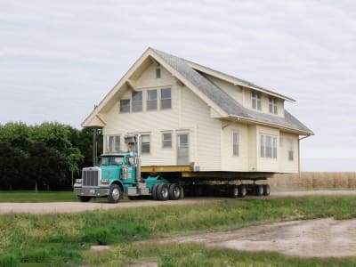 House Relocation - © Attention Deficit Disorder Prosthetic Memory Program