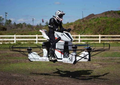 Hoverbike - © Attention Deficit Disorder Prosthetic Memory Program