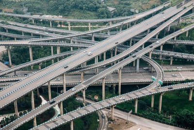 Huangjuewan Interchange - © Attention Deficit Disorder Prosthetic Memory Program