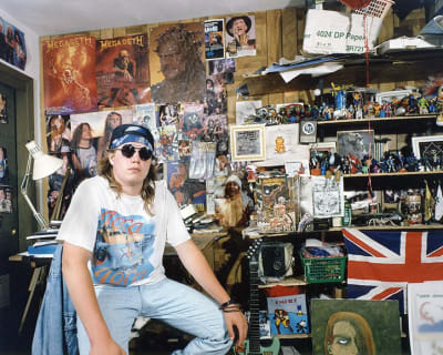 In My Room : Teenagers in Their Bedrooms - © Attention Deficit Disorder Prosthetic Memory Program