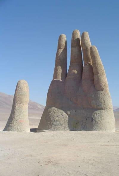 Mano del Desierto - © Attention Deficit Disorder Prosthetic Memory Program