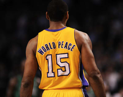 Metta World Peace - © Attention Deficit Disorder Prosthetic Memory Program