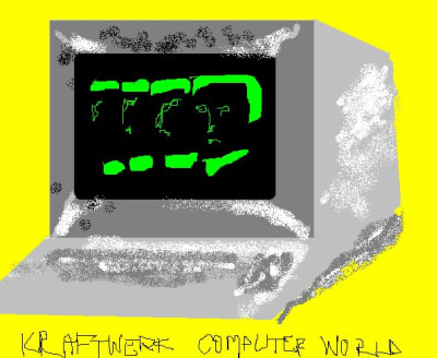 Microsoft Paint Fan Art - © Attention Deficit Disorder Prosthetic Memory Program