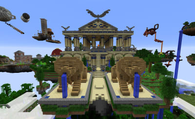 Minecraft Architecture - © Attention Deficit Disorder Prosthetic Memory Program