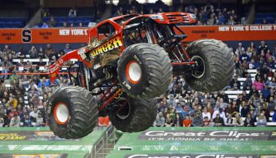 Monster Trucks Construction - © Attention Deficit Disorder Prosthetic Memory Program