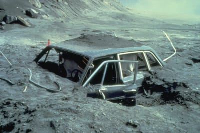 Mount St Helens Eruption - © Attention Deficit Disorder Prosthetic Memory Program