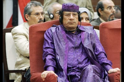 Muammar Gaddafi's Taylored Ensembles - © Attention Deficit Disorder Prosthetic Memory Program
