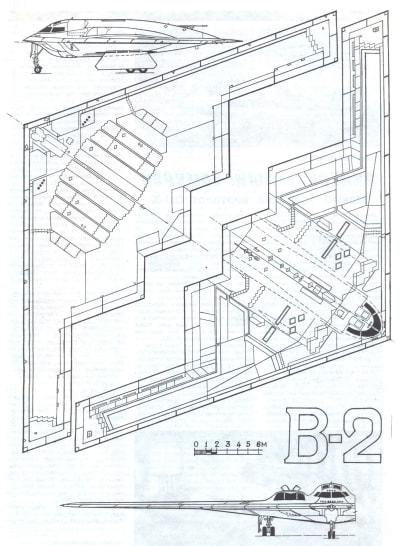 Northdrop B-2 Spirit - © Attention Deficit Disorder Prosthetic Memory Program