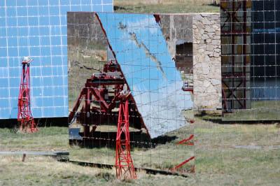 Odeillo Solar Furnace - © Attention Deficit Disorder Prosthetic Memory Program