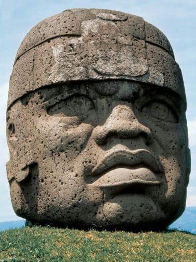 Olmec Colossal Heads - © Attention Deficit Disorder Prosthetic Memory Program