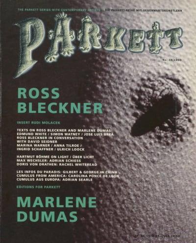 Parkett Magazine - © Attention Deficit Disorder Prosthetic Memory Program