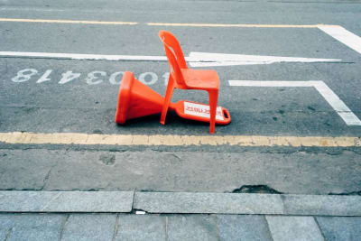 Parking Space Savers - © Attention Deficit Disorder Prosthetic Memory Program