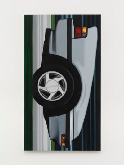 Peter Cain's Cars painting series - © Attention Deficit Disorder Prosthetic Memory Program