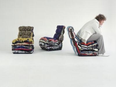 Rag Chair - © Attention Deficit Disorder Prosthetic Memory Program