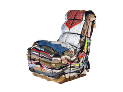Rag Chair - © Attention Deficit Disorder Prosthetic Memory Program