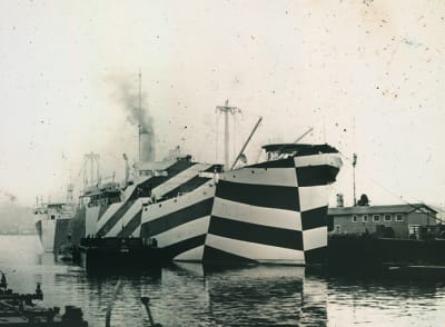 Razzle Dazzle Camouflage - © Attention Deficit Disorder Prosthetic Memory Program