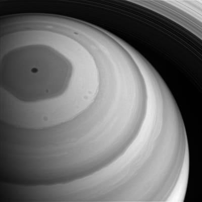 Saturn's Hexagone - © Attention Deficit Disorder Prosthetic Memory Program