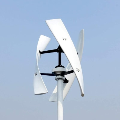 Savonius Wind Turbine - © Attention Deficit Disorder Prosthetic Memory Program