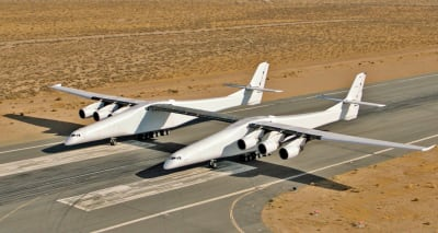 Scaled Composites Model 351 Stratolaunch - © Attention Deficit Disorder Prosthetic Memory Program