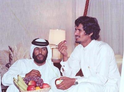 Sheikh Hamad bin Hamdan Al Nahyan - © Attention Deficit Disorder Prosthetic Memory Program
