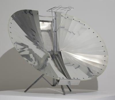 Solar Cooker - © Attention Deficit Disorder Prosthetic Memory Program