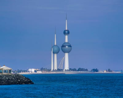 Kuwait Water Towers - © Attention Deficit Disorder Prosthetic Memory Program