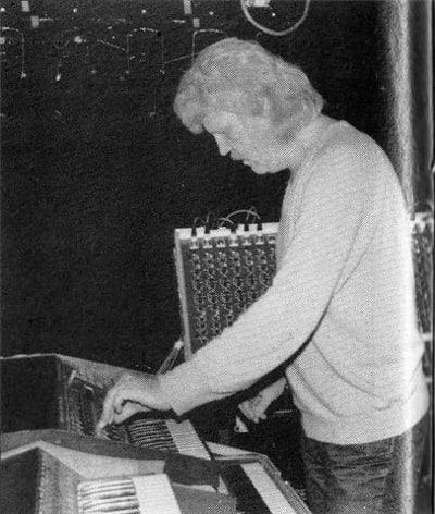 Tangerine Dream Equipment - © Attention Deficit Disorder Prosthetic Memory Program