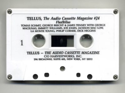 Tellus Audio Cassette Magazine - © Attention Deficit Disorder Prosthetic Memory Program