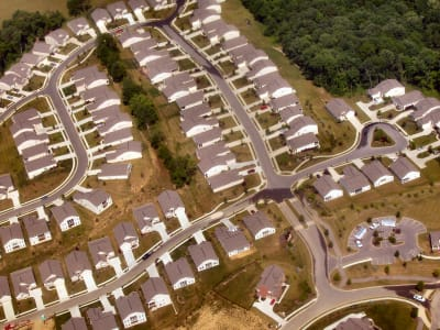 Tract Housing - © Attention Deficit Disorder Prosthetic Memory Program