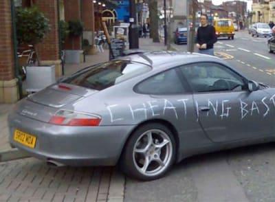 Vandalized Cars - © Attention Deficit Disorder Prosthetic Memory Program