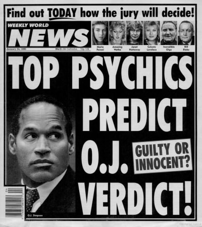 Weekly World News Recurring Subjects - © Attention Deficit Disorder Prosthetic Memory Program