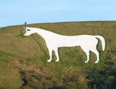 Westbury White Horse - © Attention Deficit Disorder Prosthetic Memory Program