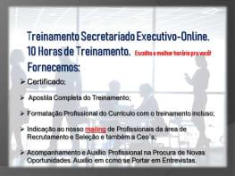 Treinamento Secretariado Executivo