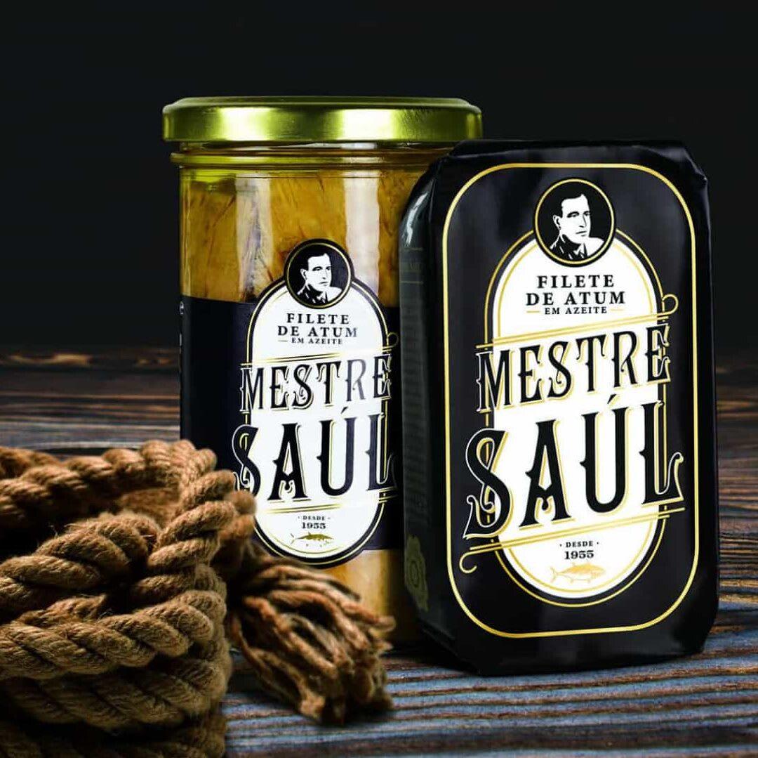 Mestre Saúl é a primeira conserva de atum maturado dos Açores