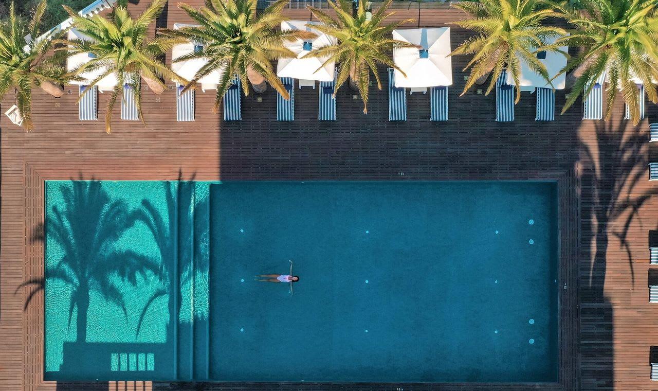 A piscina do Bela Vista Hotel & Spa