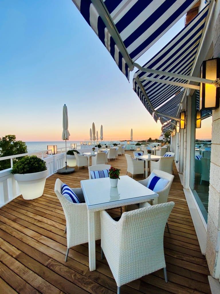 Terraço do Restaurante VISTA Algarve