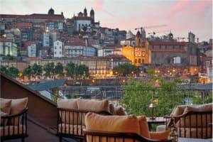 Restaurante & Terrace Enoteca 17.56 em Gaia