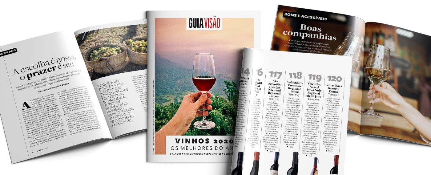 Guia dos Melhores Vinhos de Portugal Visão