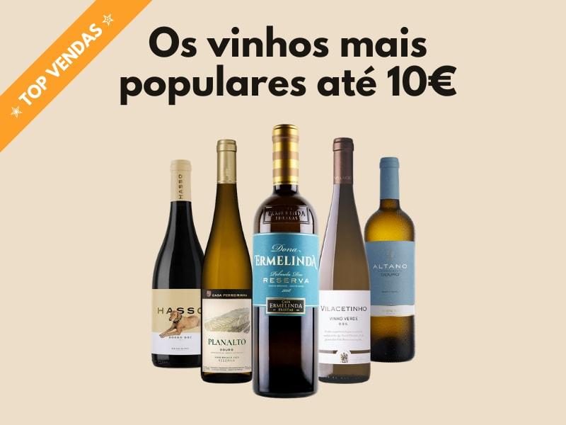 Os vinhos mais populares até 10€