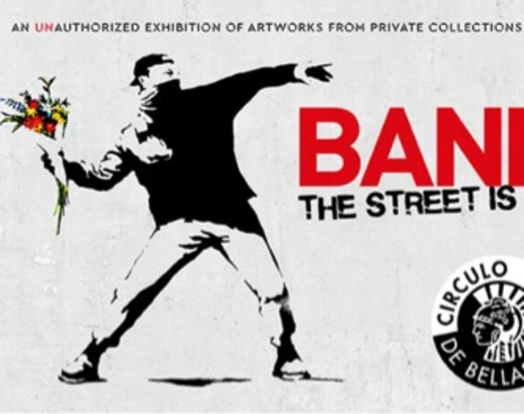 BANSKY. The Street is a Canvas
