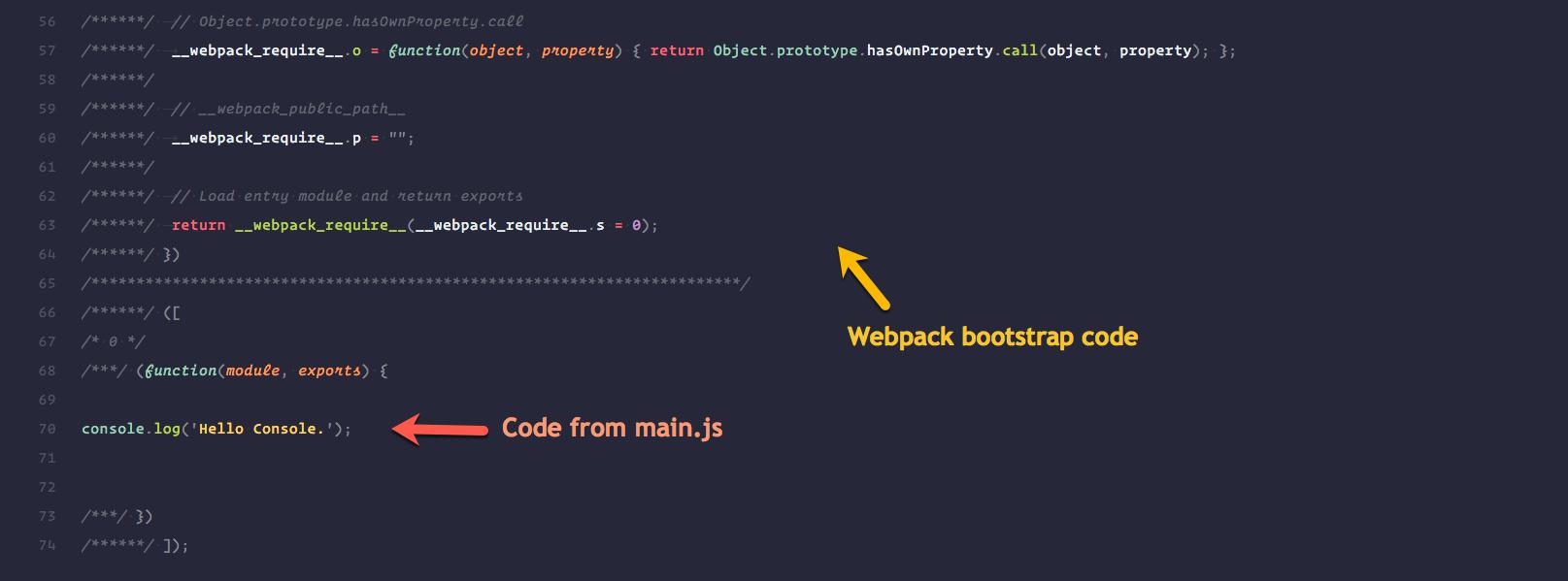 Webpack Config Screenshot