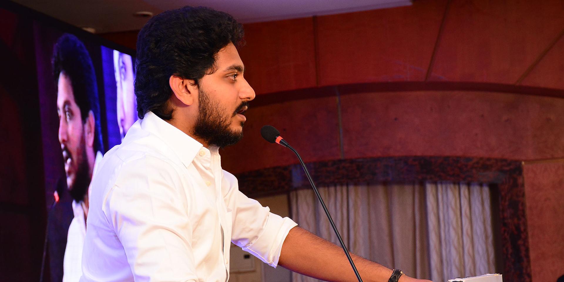 Jeyanandh Dhivaharan full press meet during website launch - 24-07-2018