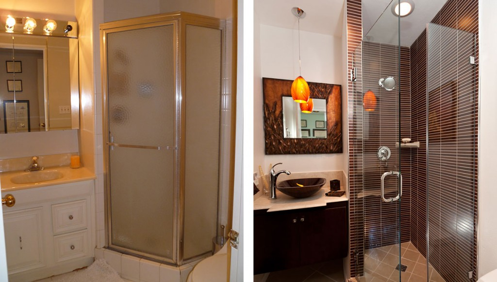 Bathroom Remodel Before And After Photos One Week Bath