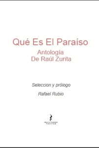 Qué es el Paraíso. Antología de Raúl Zurita